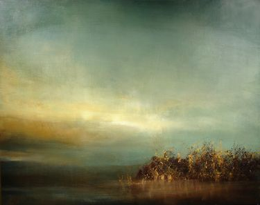 """Maurice Sapiro, """"My painting """"Land's End"""" is featured at Saatchi Art""""/"""