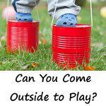 30 days of Outdoor Activities for kids