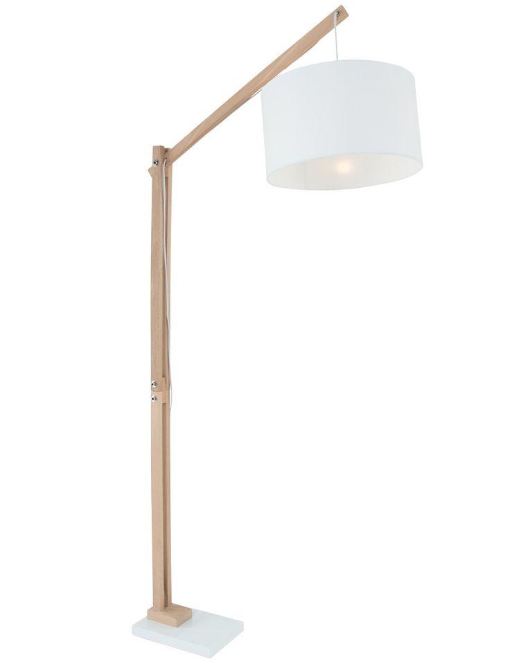 Hengel vloerlamp La Forma Izar wit 186 cm