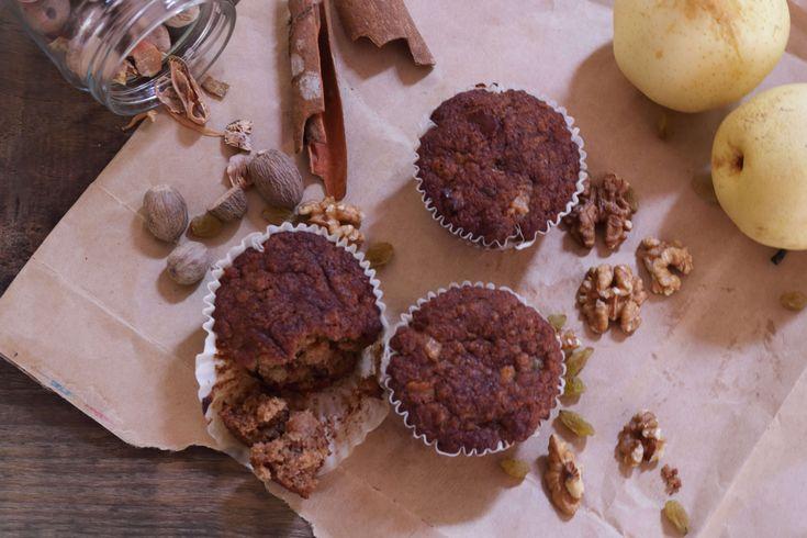 Gluten-Free Buckwheat Fruit 'N' Nut Cupcakes