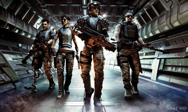 Aliens Colonial Marines - HD Wallpapers
