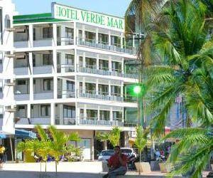 Panorámica Hotel Verde Mar en San Andrés