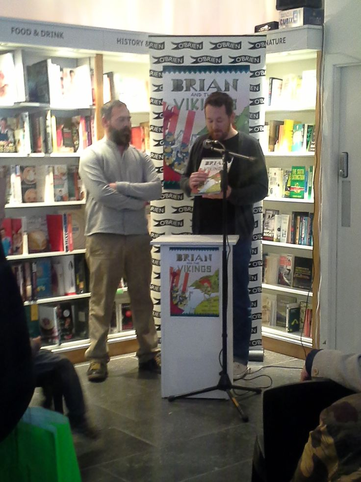 Mark Wickham and Chris Judge give us a reading of Brian and the Vikings