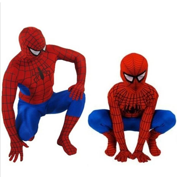 Kid and Adult Spider-Man Costume - Red. Taxes and delivery included. Learn more at myscreenaddcition.com