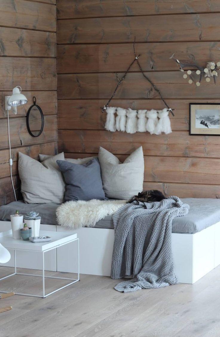 Lille pladsopløsning: Dobbelt told DIY-senge