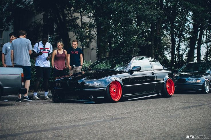 BMW 325ci dumped! stance poke and tuck!