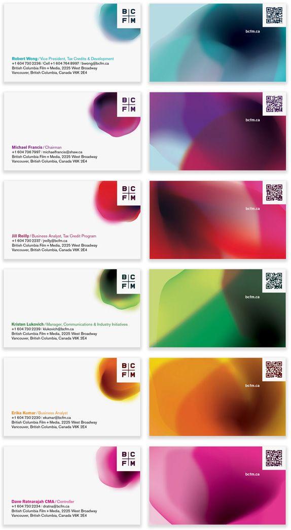 Como incorporar um QRCode de forma elegante. BCFM Biz Cards