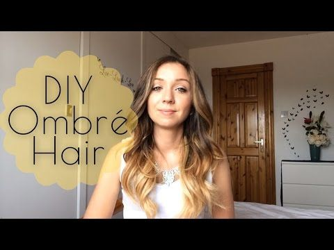 How To: Ombre your hair with Revlon Frost and Glow - YouTube