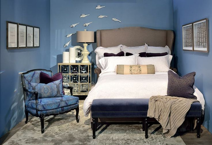 Design space shown at the 2014 National Home Show in Toronto, ON. #design #GlenandJamie #furniture #homeshow #art #bedroom