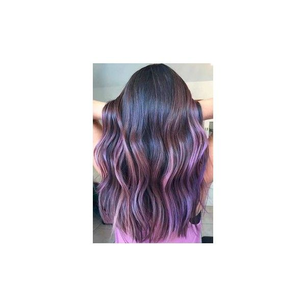 Purple hair without bleaching ❤ liked on Polyvore featuring accessories, hair accessories and purple hair accessories