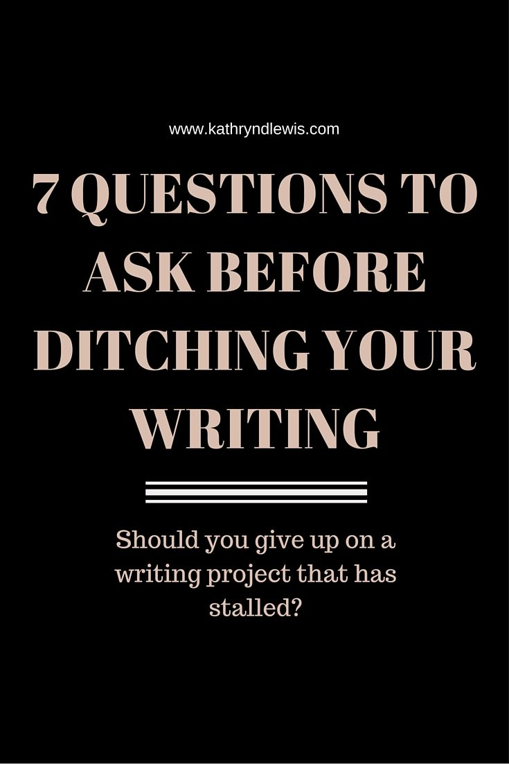 I have to do a writing project!!! What should i do?