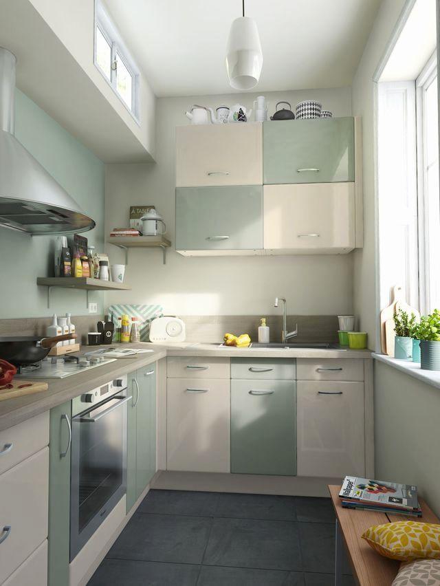 Image Result For Cuisine Vert De Gris Ikea Kallarp Home Kitchen
