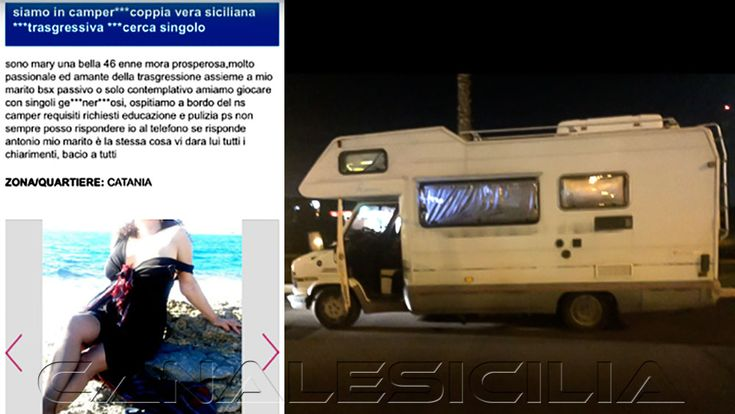 "Catania - Camper a ""luci rosse"" faceva prostituire la moglie - http://www.canalesicilia.it/catania-camper-luci-rosse-faceva-prostituire-la-moglie/ Camper, Luci Rosse, Polizia, Prostituzione"