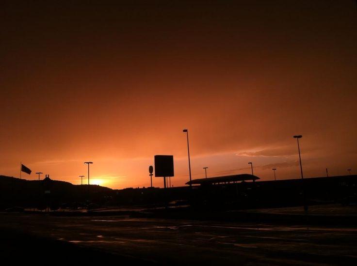 Sunset after work