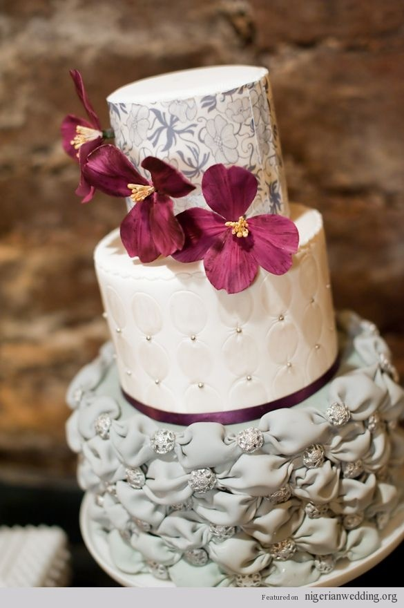 25+ best ideas about Quilted wedding cakes on Pinterest ...