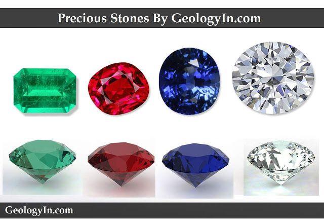 What Are The Four Most Precious Stones Precious Stones Expensive Stones Stone