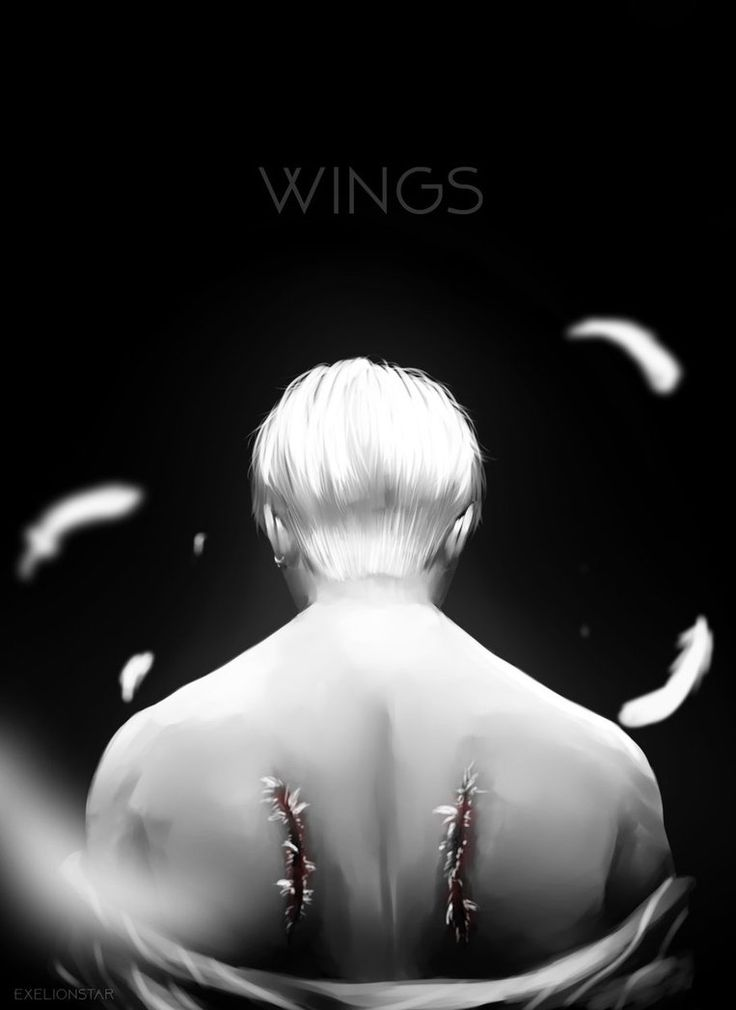Another piece I did when their MV got released. I'm so in love with it. Park Jimin from BTS