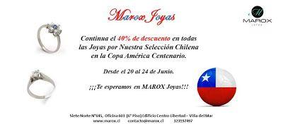Marox Joyas:   CONTINUA EL 40% DE DESCUENTO EN TODAS LAS JOYAS,...