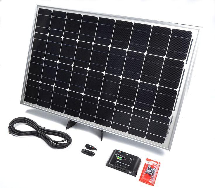 60w 12v Solar Battery Charger for Caravans and Motorhomes