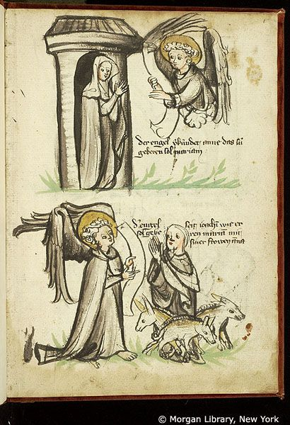 New Testament illustrations, MS M.719 fol. 1r - Images from Medieval and Renaissance Manuscripts - The Morgan Library & Museum