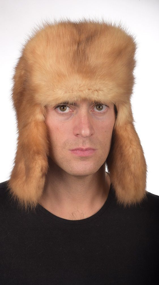 Sable fur hat is certainly among the world's most luxurious hat. Authentic Russian style sable fur hat an Amifur.com. Real Golden sable fur. Fur on both sides of the front and ear flaps. This hat fits both women and men.  Top quality. Handmade in Italy.  www.amifur.com