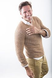 163 best knits for men images on pinterest pattern library this knitting kit with lace weight yarn results in a mans sweater that is both ultra light and surprisingly warm fandeluxe Choice Image