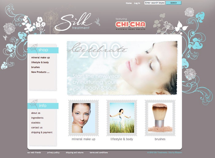Chic Mineral Make Up Online Store And Development