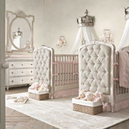 Bed Crown Canopy Crib Crown Nursery Design Wall Decor: 327 Best Twin Nursery Ideas Images On Pinterest