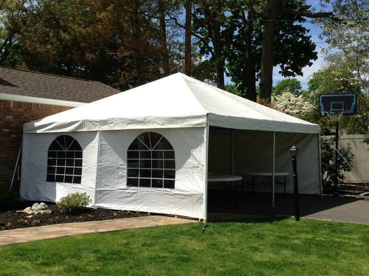 20x20 White Frame tent with Cathedral Window Walls the tent was placed up against the. Cathedral WindowsLong Island ... & 10 best OUR PARTY TENTS images on Pinterest | Long island ny Tent ...
