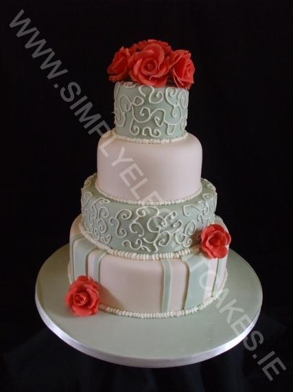 6 8 10 12 Inch Wedding Cake Mmm Cake Pinterest