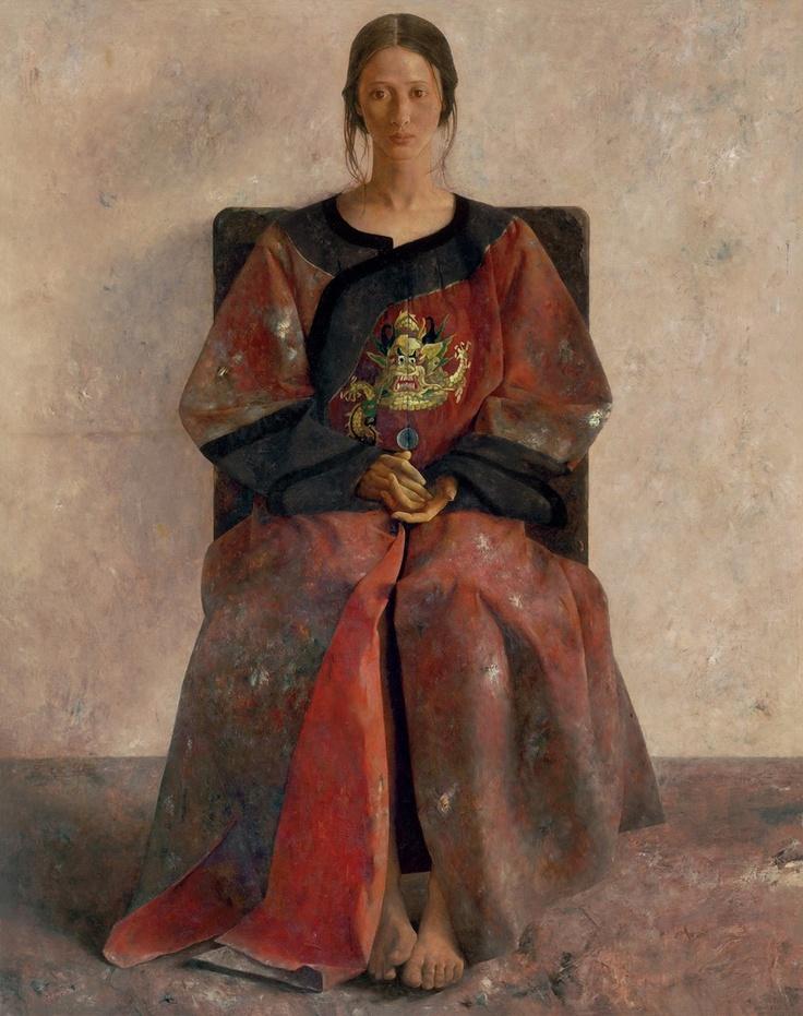 Chinese contemporary painting Lu Jian Jun ----BTW, Please Visit: http://artcaffeine.imobileappsys.com