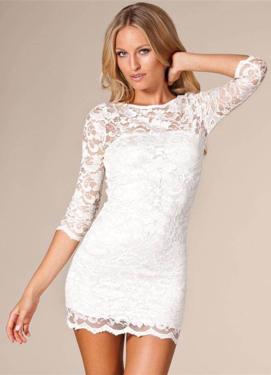 Red n white dresses bachelorette