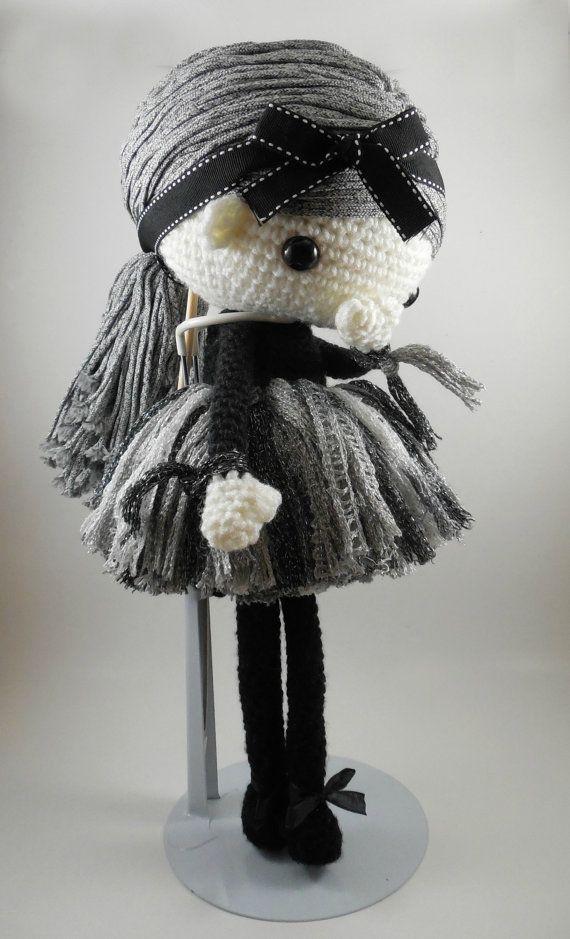 Navil  Amigurumi Doll Crochet Pattern PDF by CarmenRent on Etsy ♡ lovely doll