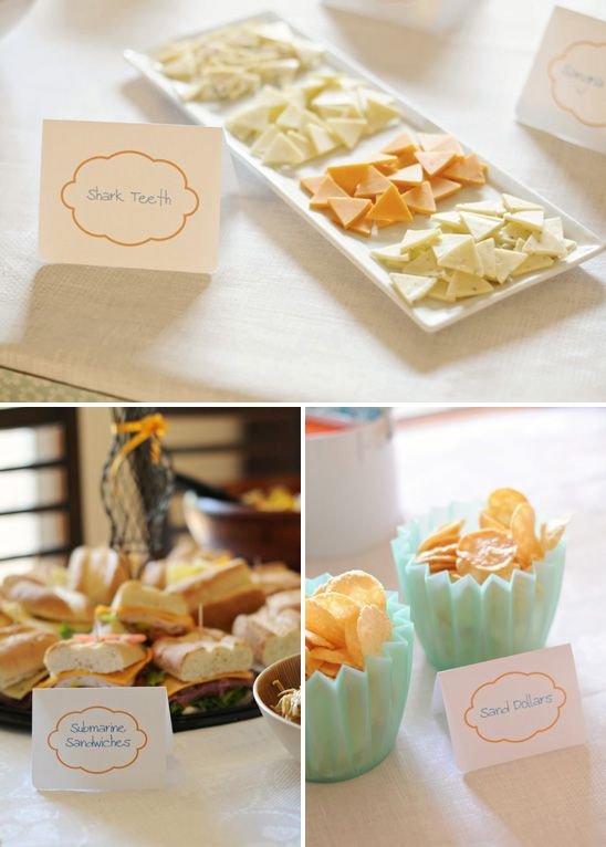 adorable food pinterest baby shower themes sea baby shower