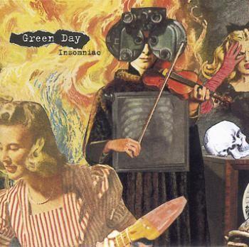 """L'album dei #GreenDay intitolato """"Insomniac""""."""