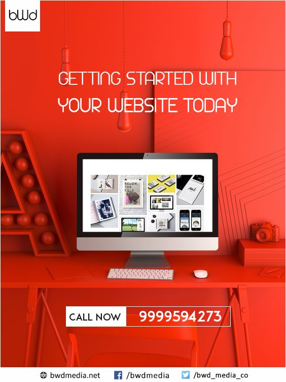 Getting #started with your #website #today. Call Now - 9999594273 For more please visit - https://bwdmedia.net/services/