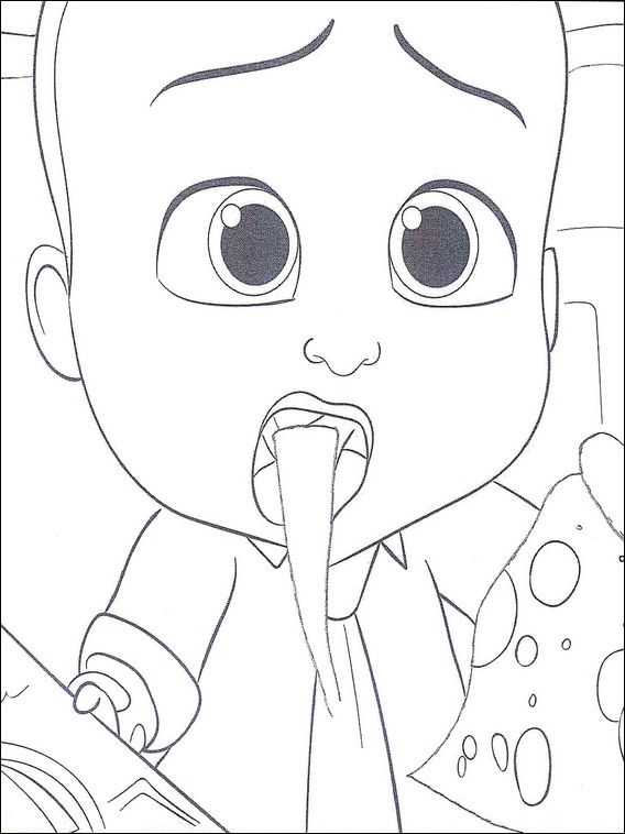 Boss Baby Coloring Pages 13