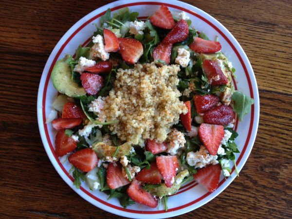 salad with grapefruit vinaigrette apple parmesan and mixed green salad ...