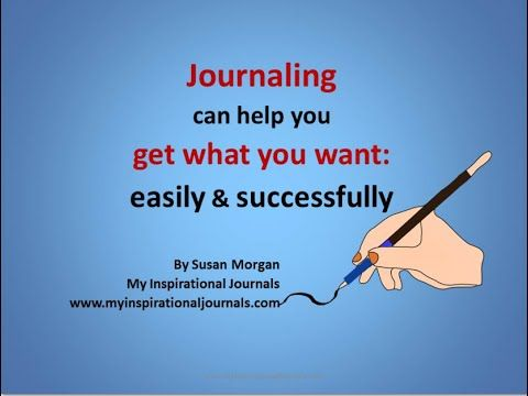 Journaling is one of the best things you can do for yourself. It helps you attract what you want and achieve goals. It relieves stress. It allows you to create memories not only for y...