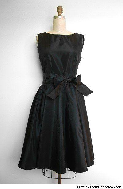 Classic little black dress