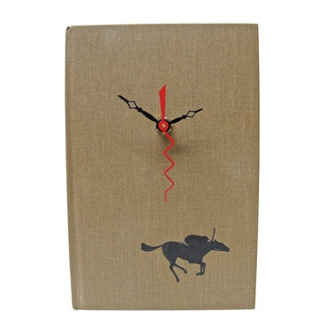 The Race by Vintage Book Clocks. (I especially like the design of this one.): Books Covers, Vintage Books, Books Art, Books Clocks