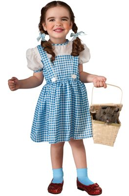 The Wizard of Oz Dorothy Halloween Sensations Toddler Costume - Pure Costumes