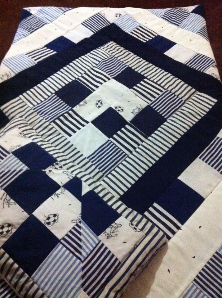 Лоскутное одеяло в морском стиле для малыша.На заказ.