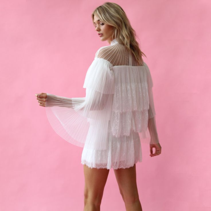 Mossman - The Moonlight Kingdom Dress // Available to hire in sizes 8-10 for $49