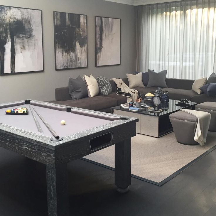 Kids room with bespoke snooker table