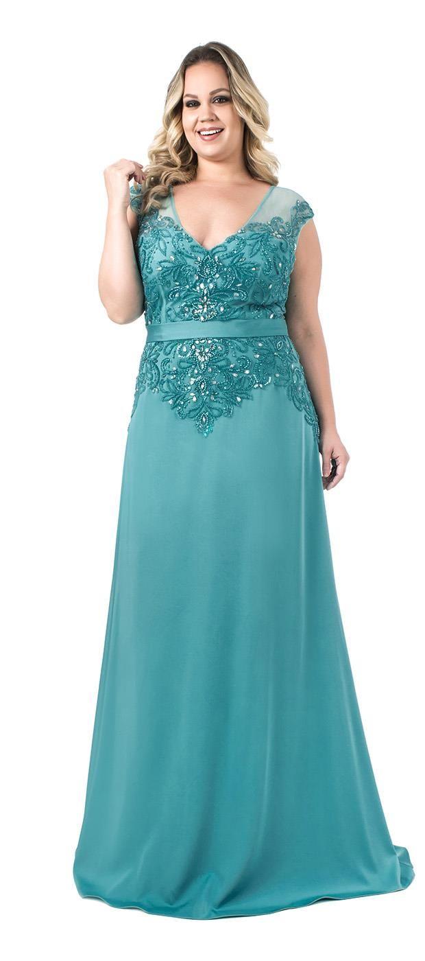105 best Vestido plus size - festa images on Pinterest | Ball gown ...