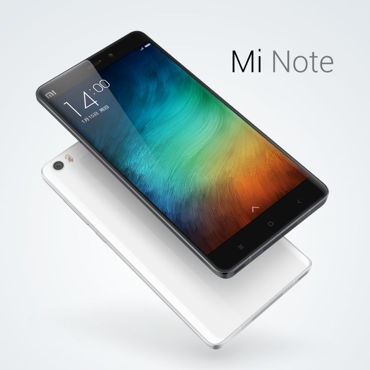 "Mi Note Highlights 3D curved Gorilla Glass 3 with metal frame 5.7"" Sharp/JDI Full HD display (95% NTSC, 1400:1 contrast.."