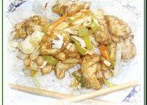 Asijské kuřecí nudličky