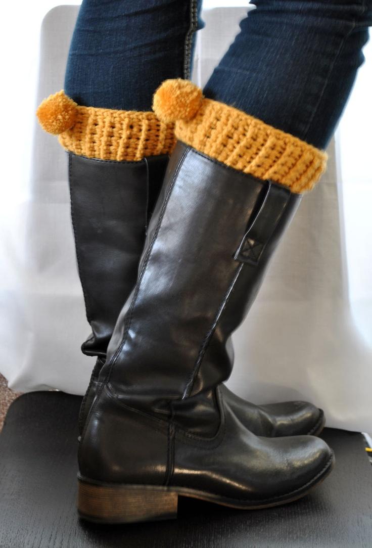 122 best boot cuffs images on Pinterest | Crochet boots, Knit ...