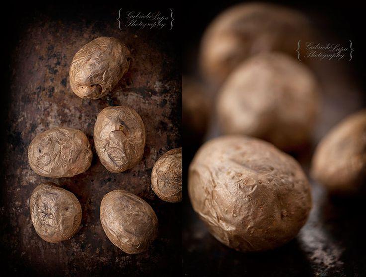 Baked potatoes in the oven – Cooking without Limits - photography